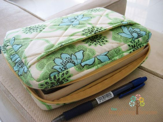 Cloth Book Covers With Handles ~ Zippers fabrics and fit on pinterest