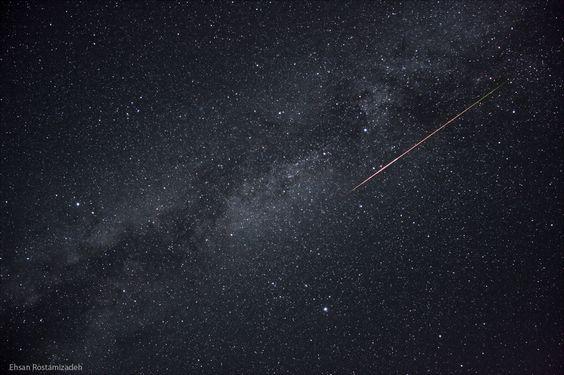 Perseid MeteorTaken by Ehsan Rostamizadeh on August 13, 2012bidkhoon, kerman, iran