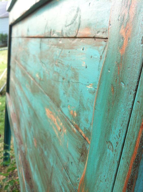 Distressed Headboard