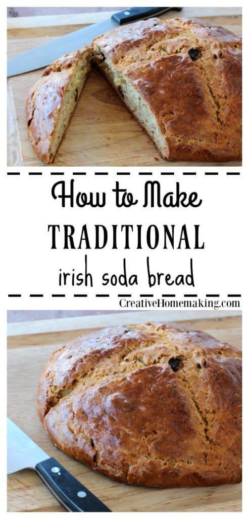 Traditional Irish Soda Bread Recipe Creative Homemaking Traditional Irish Soda Bread Irish Soda Bread Soda Bread