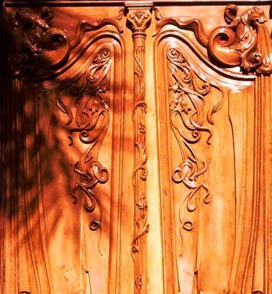 Detalle puerta en Santa Cruz de Tenerife - Islas Canarias