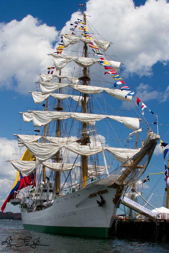 Gloria by Oleg Feldman, via 500px - ARC Gloria taken at Boston's Tall Ships, 2012.