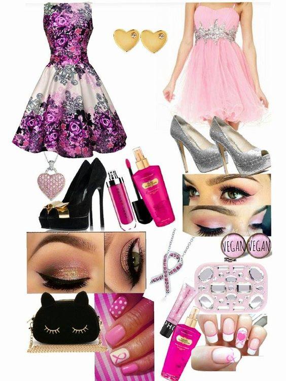 My. Dress creation collage
