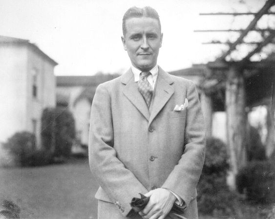 F. Scott Fitzgerald late in life