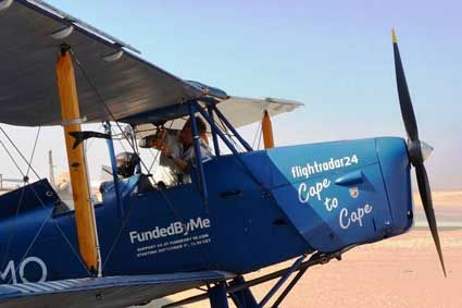 Vintage Moth pilot flying from Norway to Cape of Good Hope reaches Botswana: http://bit.ly/1OyYiiD