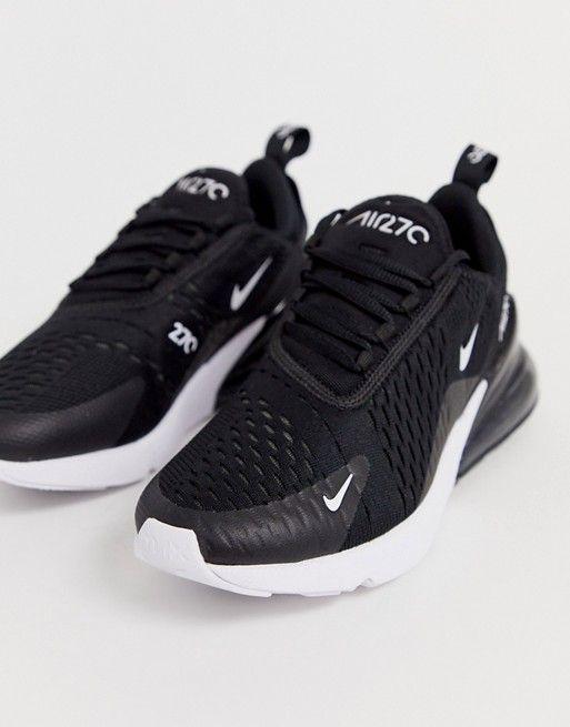 Nike Air Max 270 Sneaker in Schwarz und Weiß | ASOS | Nike