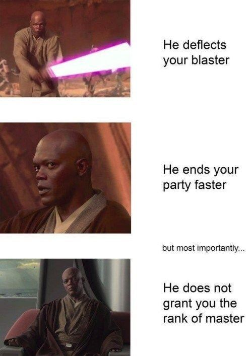 61 Funny Star Wars Memes From The Prequel To The Sequel Trilogy Funny Star Wars Memes Star Wars Humor Star Wars Facts