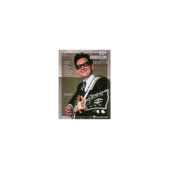 The Definitive Roy Orbison Collection (Paperback)