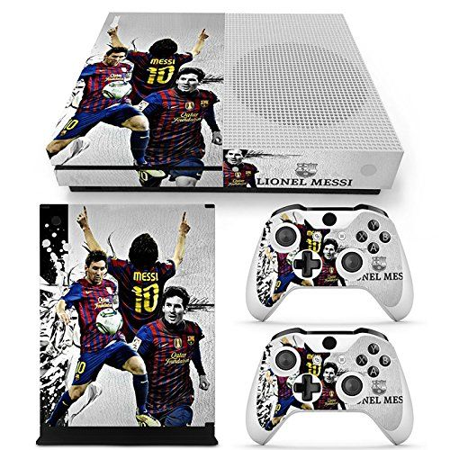 Goldendeal Xbox One S Console And Wireless Controller Skin Set Soccer Xboxone S Xos Sticker Vinyl Wireless Controlle Wireless Controller Xbox One S Xbox