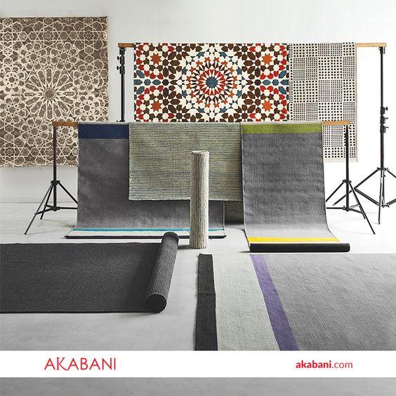 Los tapetes son un elemento de confort y provocan un estilo moderno al momento de renovar tu espacio #AkabaniMuebles