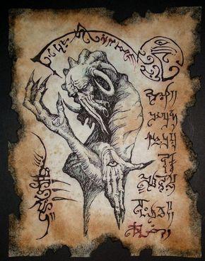 El Necronomicón,un libro salido de los infiernos 0d0ac19f6812d7473146f74c573cad67