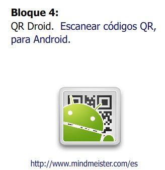 Escaner de códigos QR para Andriod