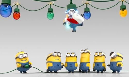 minions at christmas wallpaper | Dispicable me | Pinterest ...