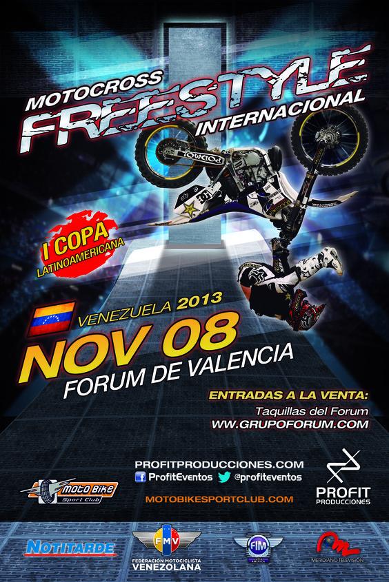 Si estás en Valencia y quieres comprar tu entrada para Motocross Freestyle, acércate a las taquillas del Forum o haz tu compra Online a través de nuestra web www.profitproducciones.com