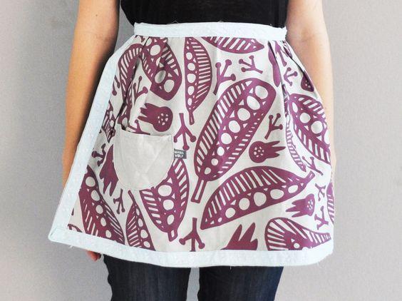 LADY PRIMAVERA apron