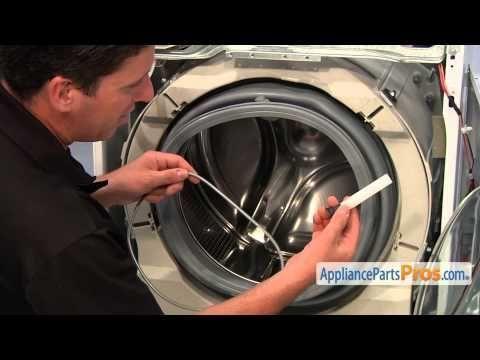Washer Door Boot Seal Part 134515300 How To Replace Youtube Door Seals Washing Machine Repair Bosch Washing Machine