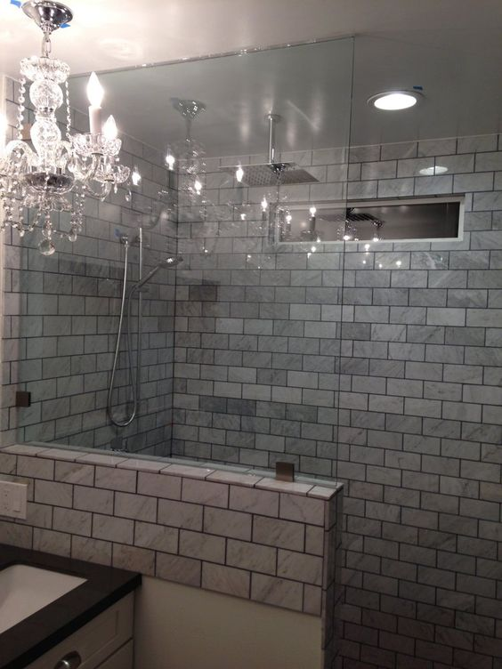 Knee Wall Yes Tile Work No Bathroom Remodel Pinterest
