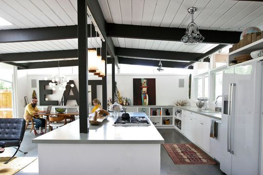 """Jessica and Jonathan's """"Cook Together In Front of the Fireplace"""" Kitchen Kitchen Spotlight"""