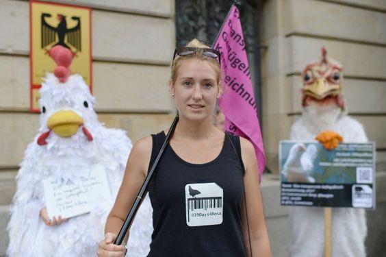Europareise für den Tierschutz: Ein Sommer im Hühnerkostüm - SPIEGEL ONLINE