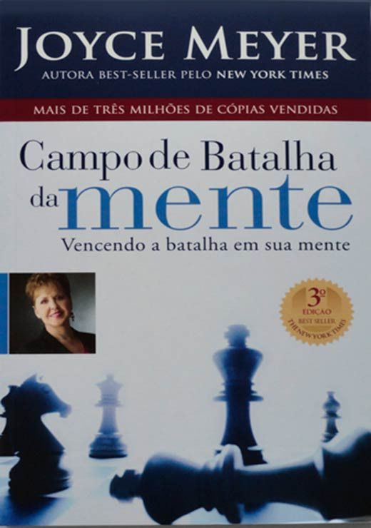 Livro Campo De Batalha Da Mente Joyce Meyer Livro Campo De