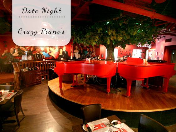 Date Night: Crazy Piano's - My Simply Special