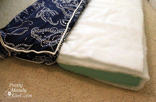 Sewing A Bench Cushion With Piping Bench Cushions Diy Cushion