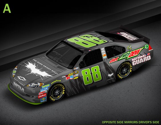 "MOUNTAIN DEW(R) AND DALE EARNHARDT JR. GO ""DARK"" IN ANTICIPATION OF THE DARK KNIGHT RISES"