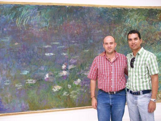 De cerca con los Nenúfares de Monet en Francia 2009