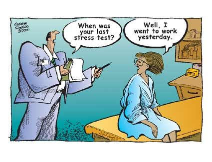 Cartoons Of Pms And Menopause Of Women In Workplace Asian Wedding Brides Are More Stressed