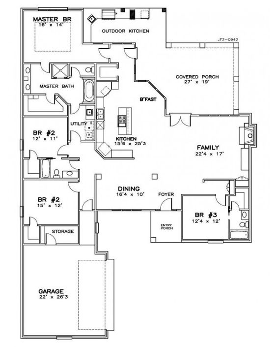 House plan jf2 0942f cape cod new for New england country homes floor plans