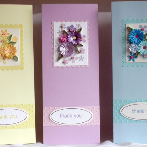 Thank you cards £7.50