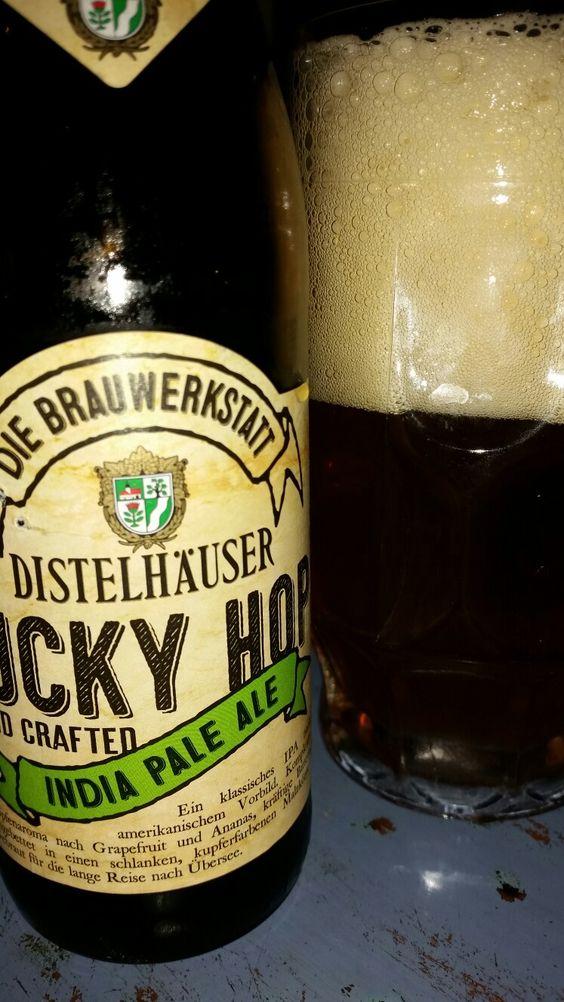 Distelhäuser Lucky Hop. India Pale Ale. Distelhausen, Baden-Württemberg, Germany