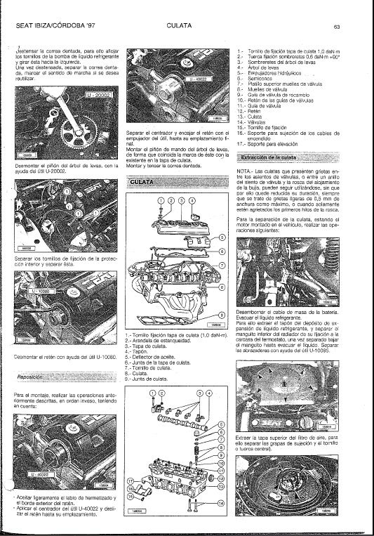 manual de taller seat ibiza cordoba 1997 pdf despiece seat rh pinterest pt manual taller seat ibiza manual taller seat ibiza 6j
