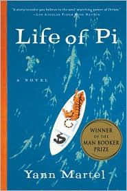 Life if Pi By Yann Martel - an extraordinary, thought-provoking book.