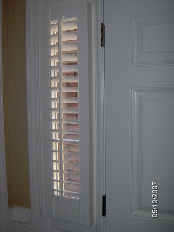 Pinterest the world s catalog of ideas for Side door window coverings