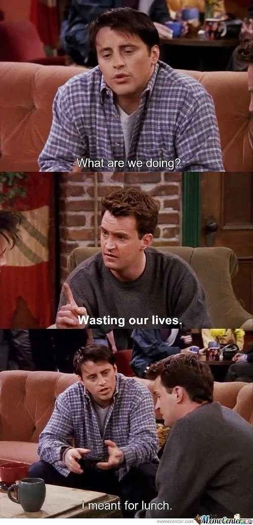 """You always keep things in perspective. 
