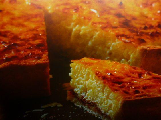 torta di riso e mandorle dolce - emiliana