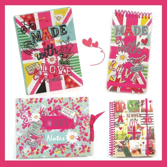 Cadernos, agendas, bloquinhos de notas... As peças de papelaria estão mais fofas que nunca! Aproveite o Dia da Secretária para presenteá-las. Shop: http://bit.ly/1rHNGUg