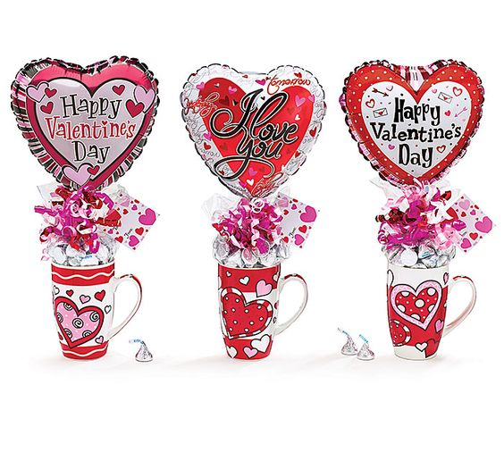 valentine balloon bouquet pictures