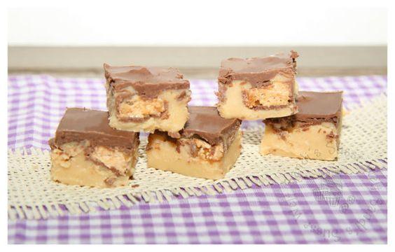 Sandi´s Süsse Welt: Snickers-Karamell-Fudge