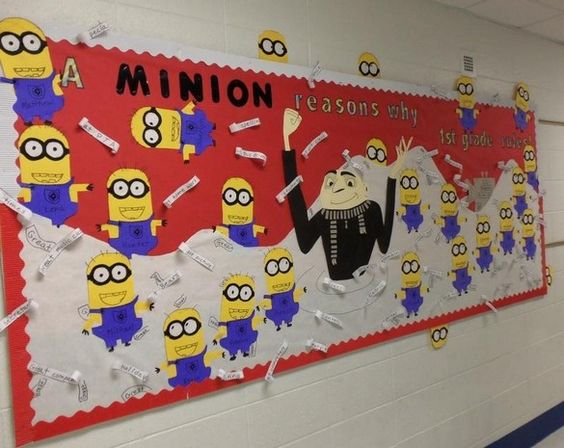Welcome back to school bulletin boards ideas bulletin for Cool notice board designs