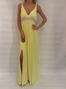 Κίτρινο φόρεμα : H μόδα για το καλοκαίρι.Δείτε κίτρινα φορέματα στο www.primadonna.com.gr