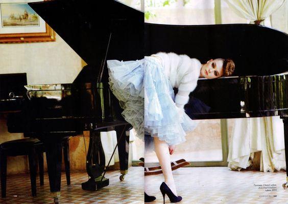 zenia sevastyanova by erez sabag in ELLE RUSSIA, october 2010