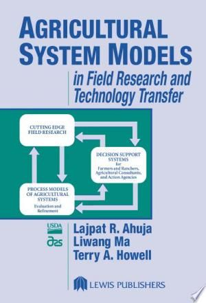Agricultural System Models In Field Research And Technology Transfer Pdf Free Technology Transfer System Model Technology