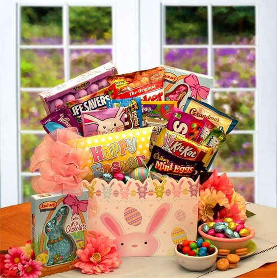 Shop kims la bella easter gift baskets visit our website for the hip hops easter treats gift box hip hops looking forward to surprising them this year with his hand picked box of delicious easter treats negle Gallery
