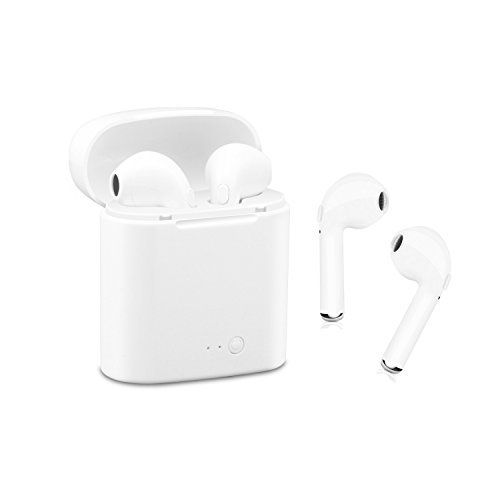 Wireless Bluetooth Headset Best Wireless Earbuds A Pair Of Wireless Headphones With Charging Case Iphone X 8 8p Wireless Earbuds Wireless Headphones Headphones