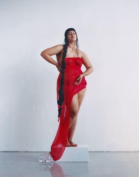 Vinny Maruri, @kumari_seshasai, activista y modelo (género no binario). Maquillaje de @agussuga_mua