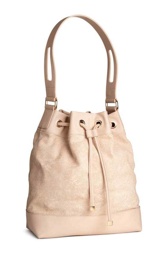 prada handbag bag - Borsa a secchiello in pelle | H\u0026amp;M | Bags | Pinterest | H\u0026amp;m ...