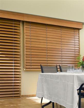 Persianas de madera venecianas de madera cortinadecor da - Persianas venecianas de madera ...