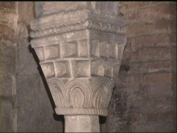 Basilica Of San Savino Piacenza Italy The Crypt Of The Church 12th